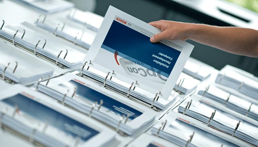 Logistische Verwaltung Ihrer Dokumente